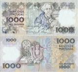 1990 ( 20 XII ) , 1,000 escudos ( P-181h.3 ) - Portugalia