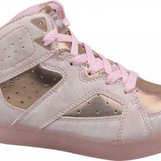Pantofi sport Skechers E-Pro II Lavish Lights 20061L-LTPK pentru Copii, 27.5, 28, 28.5, 30 - 33, 35 - 39, 39.5, Roz