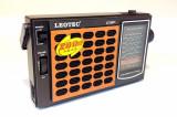 Radio Leotec LT-2011, cu 11 benzi radio, alimentare 220v si baterii