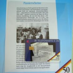 """3 Cartele Telefonice """"50 Jahre Deutschland"""" - Exponate NOI / 9"""