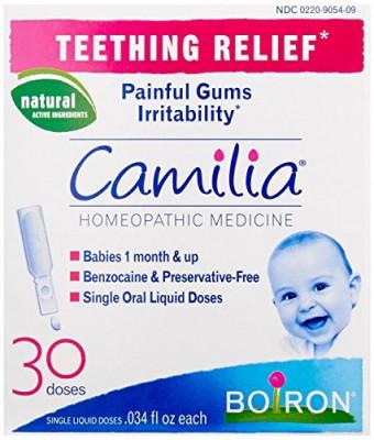 Tratament Homeopat, Boiron, Camilia, Calmare Dentitie Bebelusi, versiune SUA, 30 Fiole foto