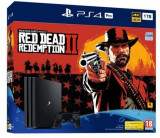 Consola Sony PlayStation 4 Pro 1 TB Red Dead Redemption 2 bundle