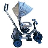 Tricicleta cu sezut reversibil Sunrise Turbo Trike Light Blue, Baby Mix