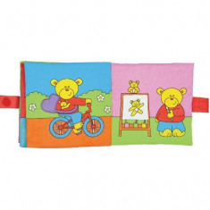 Large Soft Book: Carticica moale Teddy's Day, Galt
