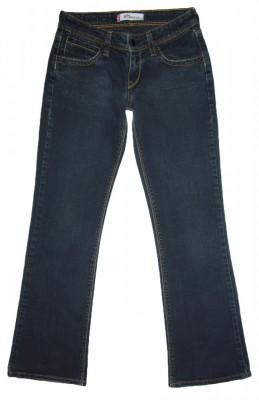 Blugi Dama Levis Jeans LEVI'S 572 BOOTCUT - MARIME: W 27 / L 30 - (Talie 69 CM) foto