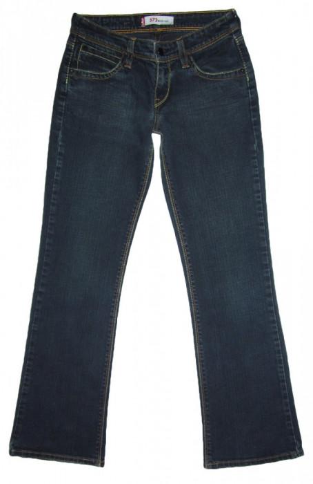 Blugi Dama Levis Jeans LEVI'S 572 BOOTCUT - MARIME: W 27 / L 30 - (Talie 69 CM)