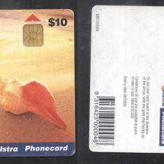 Australia Telstra - Telephone card Shell CT.007