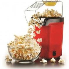 Aparat de facut popcorn, Snack Maker, 1200W, rosu