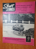 sport si tehnica august 1971-turismul nautic,aeronautica,radioamatorii babaita