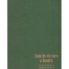 Zona de varsare a Dunarii - monografia hidrologica