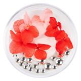 Flori Uscate Unghii LUXORISE cu cristale - Floral Fairytale #13