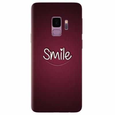 Husa silicon pentru Samsung S9, Smile Love foto