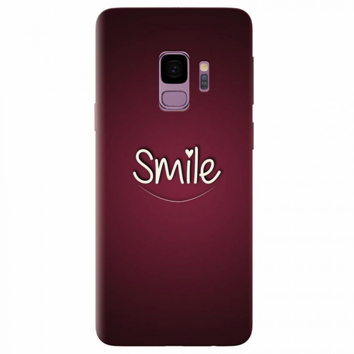 Husa silicon pentru Samsung S9, Smile Love