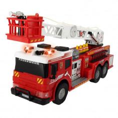 Masina de pompieri Fire Rescue SOS, 62 cm, telecomanda