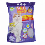 Cumpara ieftin Nisip litiera pisici, Pet Expert, Silicat Lavanda, 3.8 L