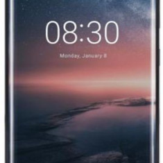 Telefon Mobil Nokia 8 Sirocco, Procesor Octa-Core 2.5 / 1.8GHz, pOLED Capacitive touchscreen 6inch, 6GB RAM, 128GB Flash, Camera Duala 12+13MP, Wi-Fi,