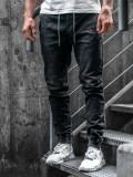 Pantaloni bărbați negri Bolf KA1078