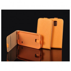 Husa flip flexi nokia lumia 630/635 portocaliu