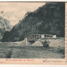 SV * Romania  *  ORSOVA - SZECHENYI STRASSE *  CAZANE  *  1899, Circulata, Fotografie, Printata