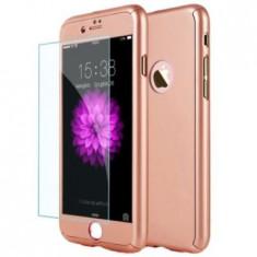 Capac de protectie Full cover 360° pentru Apple Iphone 6 Plus/6S Plus, rose gold