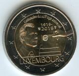 LUXEMBURG moneda 2 euro comemorativa 2019 - UNC