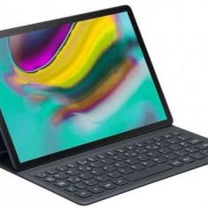 Husa cu tastatura Samsung EJ-FT720UBEGWW pentru Samsung Galaxy Tab S5e 10.5inch T725 (Negru)