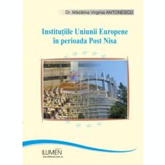Instituțiile Uniunii Europene în perioada Post-Nisa. O perspectivă de drept constituțional - Mădălina ANTONESCU