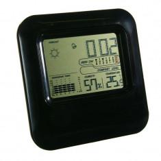 Statie meteorologica, 14 x 14 cm, Negru