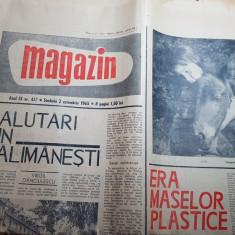 Magazin 2 octombrie 1965-articol si foto salutari din calimanesti