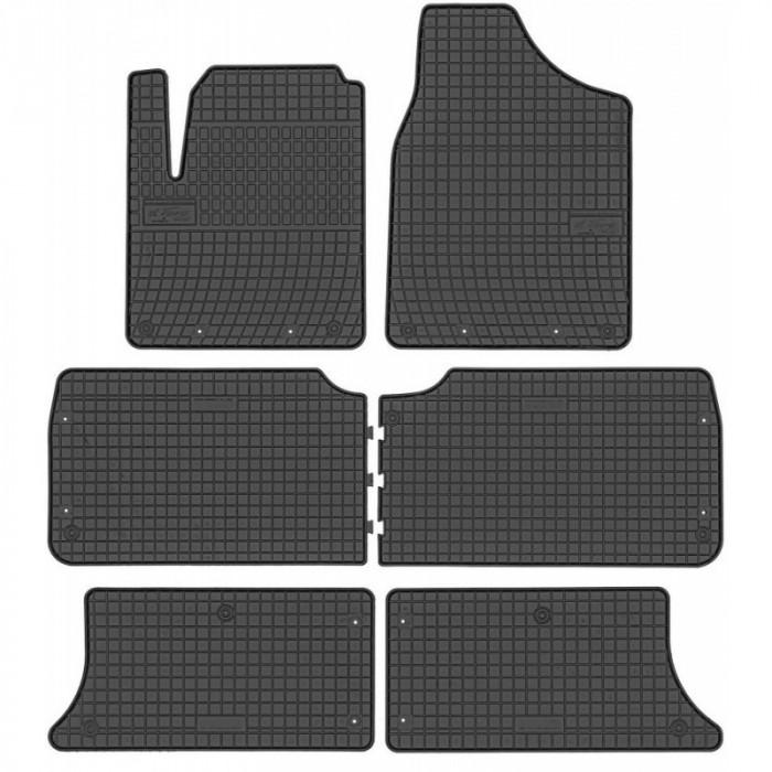 Set Covorase Auto Cauciuc Negro Ford Galaxy 1 95-06 7 Locuri Model: 0311 + 03117