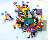 Lot piese LEGO, circa 2000 grame / 2 kg