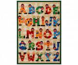Covor Letters 100x140 cm - Viva, Multicolor