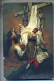AX 395 CP VECHE -RELIGIOASA - COBORAREA LUI ISUS DE PE CRUCE