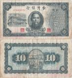 1946 , 10 yuan ( P-1937 ) - Taiwan