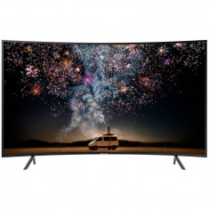 Televizor Samsung LED Smart TV Curbat 49RU7302K 123cm Ultra HD 4K Black foto