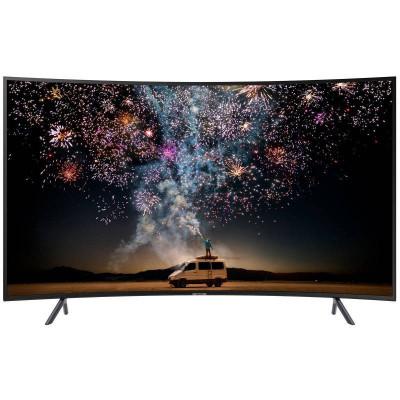 Televizor Samsung LED Smart TV Curbat 65RU7302K 165cm Ultra HD 4K Black foto