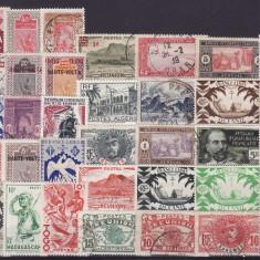 4565  - lot timbre Colonii franceze