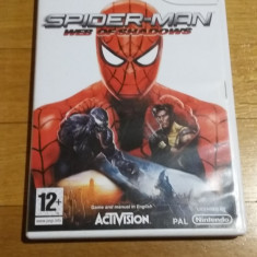WII Spider-man Web of shadows original PAL / by Wadder, Actiune, 12+, Single player, Activision
