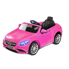Vehicul Electric Mercedes-Benz S63 AMG 12V PINK