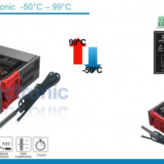 Termostat electronic digital Controler temperatura 12V - 72V STC-1000