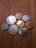 Colectie set 8 monede diferite, Europa