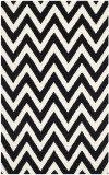 Covor Modern & Geometric Stella, Lana, Negru/Bej, 120x180, Safavieh