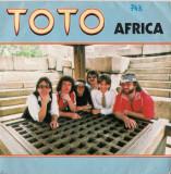 "Toto - Africa (1983, CBS) Disc vinil single 7"""