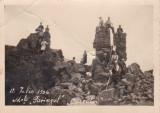 """FOTOGRAFIE """"Cuceritorii"""" 12 iulie 1936 M-tii Parangul"""