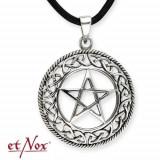 Pandantiv Pentagramă - argint