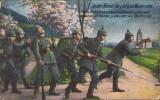 CP22 Carte postala 1916 Feldpost 406 40 Infanterie Division Primul Razboi, Circulata, Printata