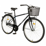 Bicicleta City 28 inch Rich Dunarea CSR2891A negrualb, RICH BIKE