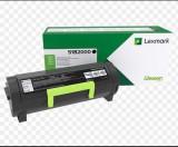 Toner lexmark 51b2000 black 2.5 k ms317dn ms417dn ms517dnms617dn mx317dn