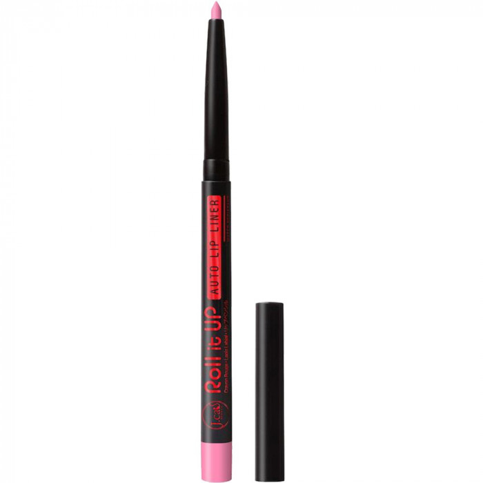 Roll it Up Auto Creion contur buze rezistent la apa Rose Pink