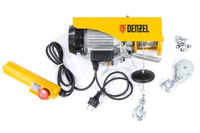DENZEL Scripete electric TF-250, 0,25 T, 540 W, inaltime 12 m, 10 m pe minut Denzel 52011 foto